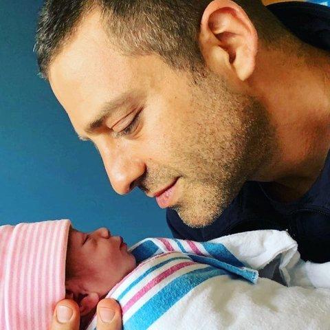 Ari Borovoy es papá por cuarta vez