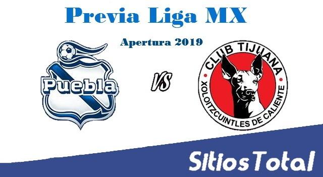 Previa Puebla vs Xolos Tijuana – J1 – Apertura 2019