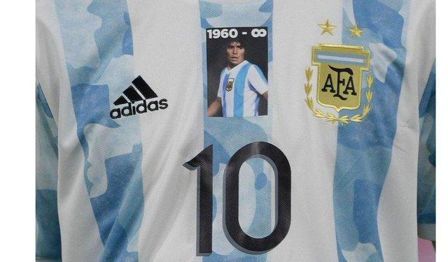 Homenaje a Maradona en el debut de Argentina en la Copa América
