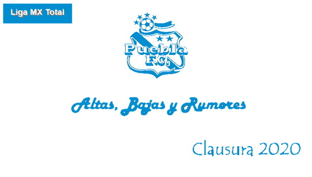 Altas, Bajas y Rumores del Puebla – Clausura 2020
