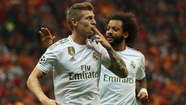 Resultado Galatasaray vs Real Madrid  – Fase Grupos –  Champions League