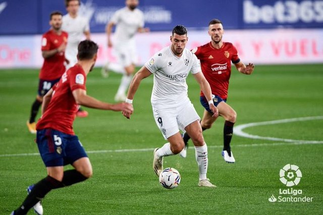 Resultado Osasuna vs Huesca – J10- La Liga 20-21
