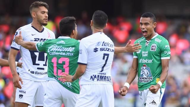 Resultado Pumas vs Leon -Jornada 14- Apertura  2019