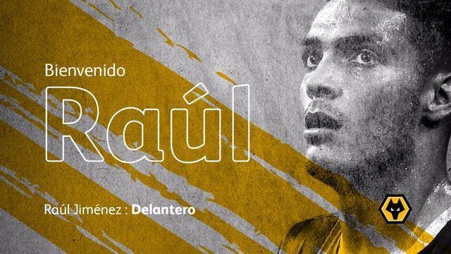 Confirmado! Raúl Jiménez a la Premier League con Wolverhampton