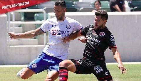 Resultado Cruz Azul vs Xolos de Tijuana – Partido Pretemporada Apertura 2018