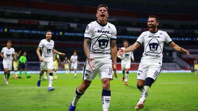 Pumas sale con su once titular para enfrentar a Pachuca