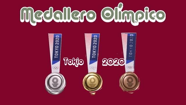 Así quedo medallero de los Juegos olímpicos  Tokio 2020
