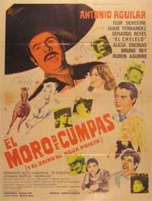 Póster El Moro de Cumpas con Antonio Aguilar