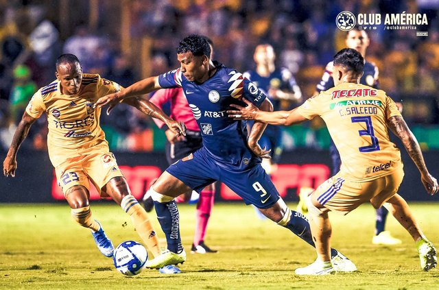 Resultado Tigres vs América -Jornada 6- Apertura  2019