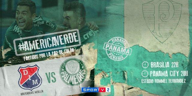 Palmeiras vs Medellín en Vivo – Partido Amistoso – Miércoles 4 de Julio del 2018