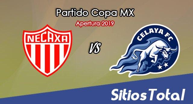 Necaxa vs Celaya en Vivo – Copa MX – Miércoles 4 de Septiembre del 2019