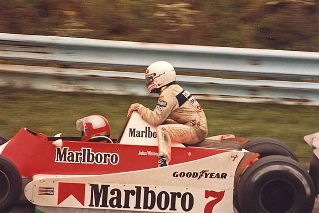 GP do Leste dos Estados Unidos de 1979: o inglês John Watson e o brasileiro Nelson Piquet
