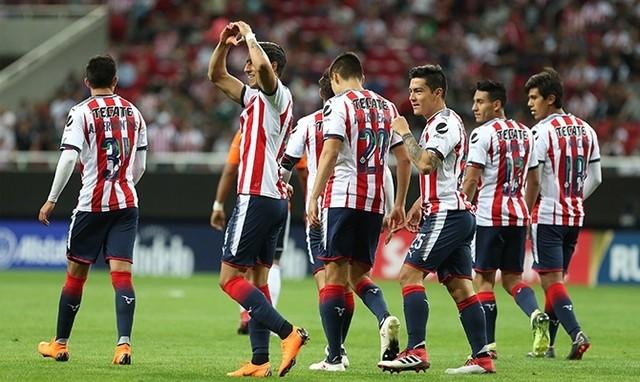 Dorsales que utilizarán los jugadores de Chivas