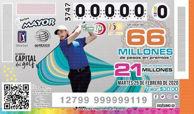 Loteria Nacional Premio Mayor No. 3747 en Vivo – Martes 25 de Febrero del 2020