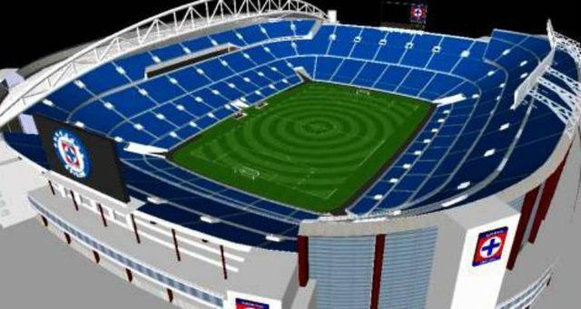 Al norte de la CDMX estará el estadio del Cruz Azul