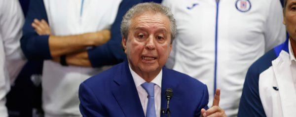 Víctor Garcés queda fuera de la vicepresidencia de Cruz Azul