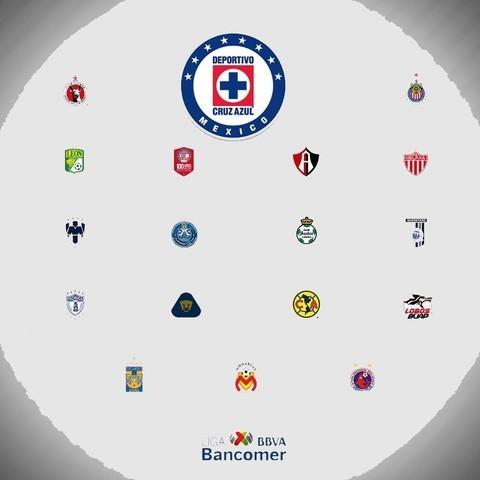 Calendario del Cruz Azul para el Apertura 2018