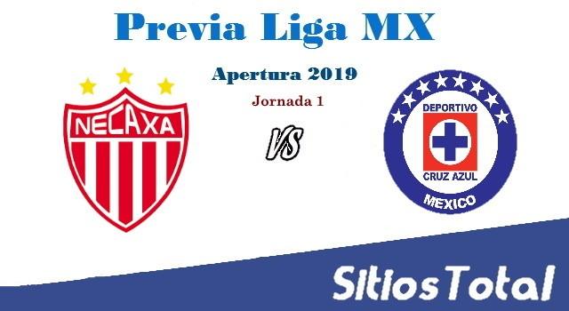 Previa Necaxa vs Cruz Azul – J1 – Apertura 2019