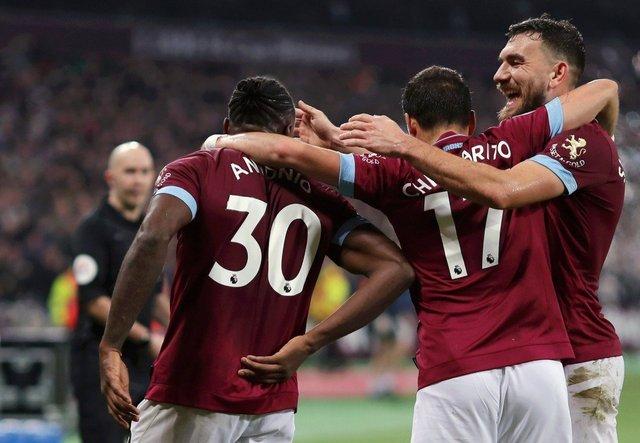 Resultado West Ham vs Liverpool