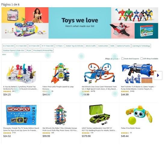 Lista de juguetes de Amazon – Viernes Negro