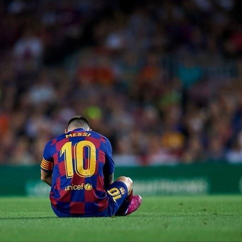Leo Messi un año con muchas lesiones