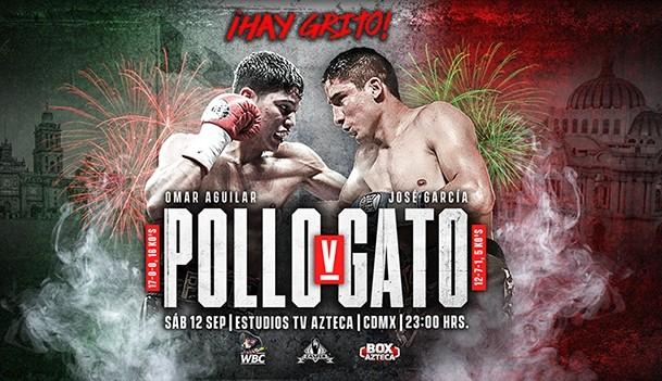Omar Alejandro 'Pollo' Aguilar vs José Guillermo 'Gato' García en Vivo – Box – Sábado 12 de Septiembre del 2020