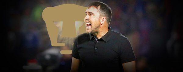 «Chacho» Coudet está en la mira de Pumas