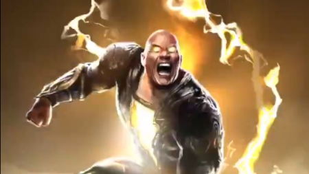 Dwayne Johnson presenta el disfraz de 'Black Adam'