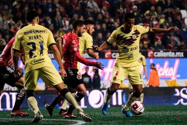 Resultado Xolos Tijuana vs America – J3- Clausura 2020