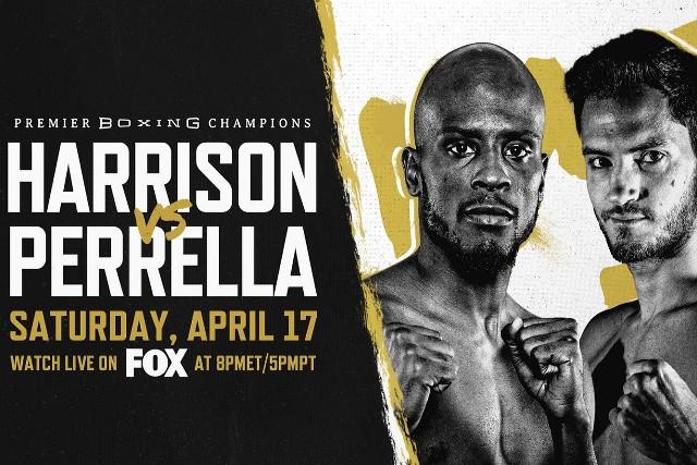 Tony 'Super Bad' Harrison vs Bryant 'Googfella' Perrella en Vivo – Box – Sábado 17 de Abril del 2021