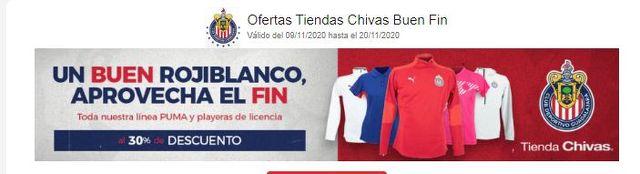 Ofertas Chivas – Buen Fin 2020