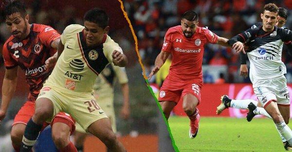 Cambian  fechas y horario de partidos del América, Monterrey y Toluca de la J17