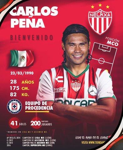 Necaxa quiere darle oportunidad a Gullit Peña