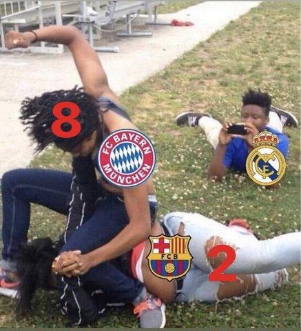 Memes del Barcelona 2-8 Bayern Munich en la Champions League