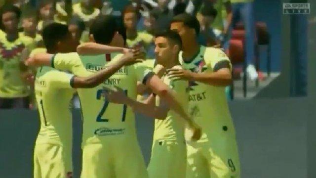 Resultado América vs Atlético San Luis -J15- eLiga MX FIFA 2020