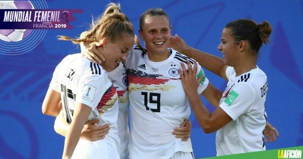 Resultado Alemania vs Nigeria – Octavos de Final – Mundial Femenil 2019