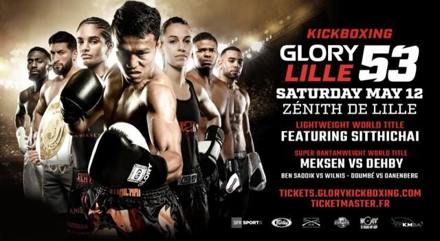Kickboxing Glory 53 en Vivo – Sábado 12 de Mayo del 2018