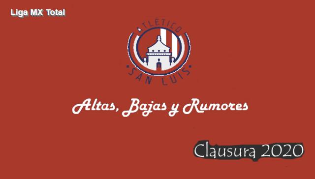Altas, Bajas y Rumores del Atlético San Luis
