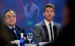 Florentino Pérez culpa a Sergio Ramos