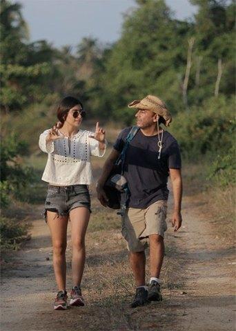 Paola Ramones, hija de Adal Ramones realiza su primer cortometraje