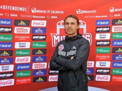 Mineros de Zacatecas anuncia salida de técnico Andrés José Carevic Ghelfi