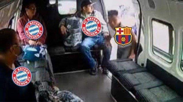 Los mejores memes del Barcelona 2-8 Bayern Munich en la Champions League