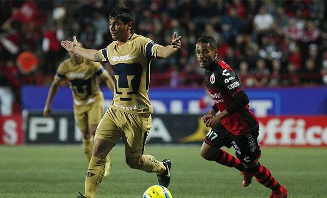 Recorridos de Pumas en la Liga MX y Copa MX