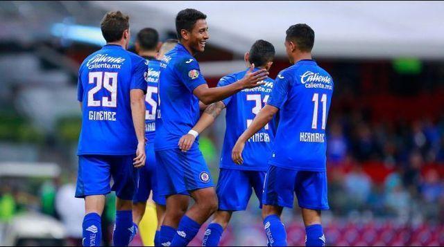 Los dorsales del Cruz Azul para el Clausura 2020