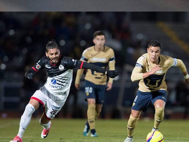 Resultado Lobos BUAP vs Pumas en J2 de Copa MX