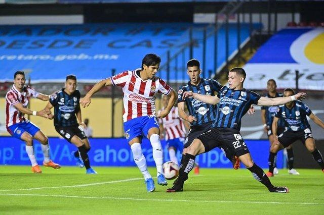 Resultado Querétaro  vs Chivas – Jornada 9 – Guardianes 2021