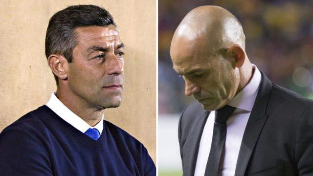 Pedro Caixinha y Paco Jémez