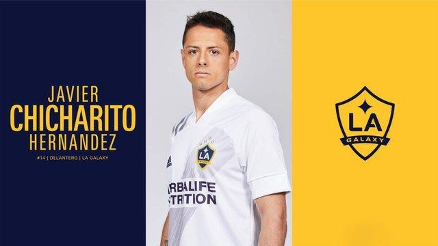 Galaxy  oficializa la llegada del 'Chicharito' Hernández