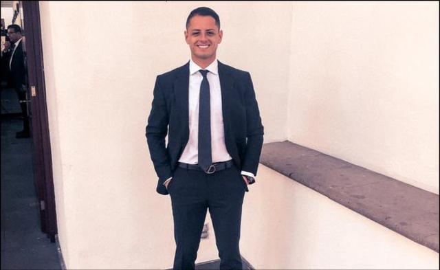 Las felicitaciones de cumpleaños a 'Chicharito' Hernández