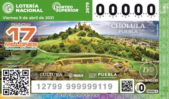 Loteria Nacional Sorteo Superior No. 2679 en Vivo – Viernes 9 de Abril del 2021